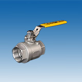 "One Piece Reduced Bore Ball Valve 1000/1500/2000 WOG (1/4"" ~ 2"")"